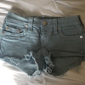 True Religion Shorts - True religion shorts size 25